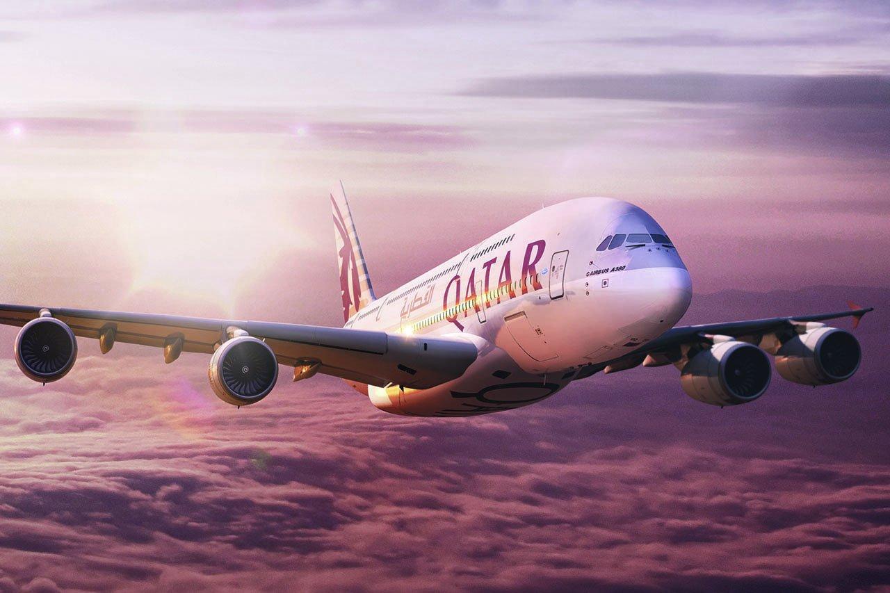Qatar Airways Airbus A380 Neuseeland Gruppenflug Open Return Ticket