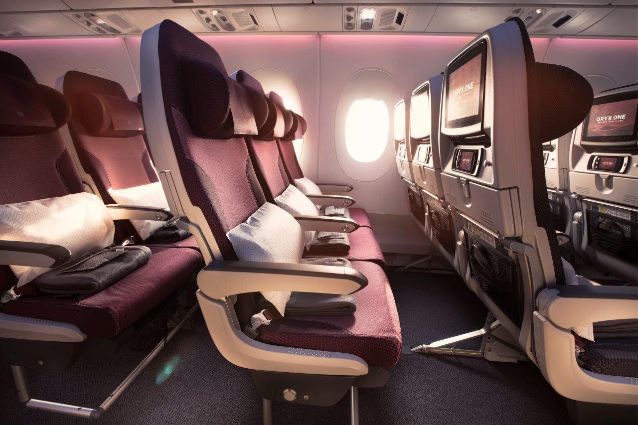 Qatar Airways Economy Neuseeland Gruppenflug Open Return Ticket